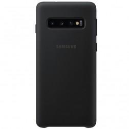 """""""Samsung"""" Silicone Cover dėklas - juodas (Galaxy S10)"""