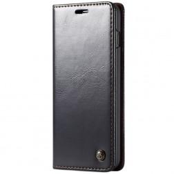 """""""CaseMe"""" solidus atverčiamas dėklas - juodas (Galaxy S10+)"""