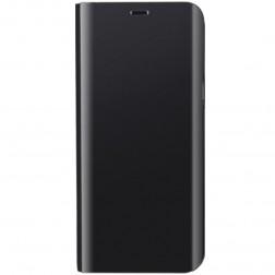 Plastikinis atverčiamas dėklas - juodas (Galaxy S10+)
