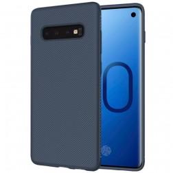 """""""Lenuo"""" kieto silikono (TPU) dėklas - mėlynas (Galaxy S10+)"""
