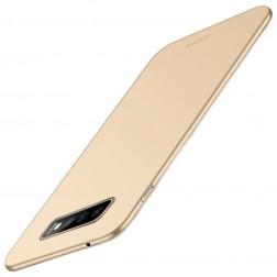 """""""Mofi"""" Shield dėklas - auksinis (Galaxy S10+)"""
