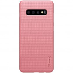 """Nillkin"" Frosted Shield dėklas - rožinis (Galaxy S10+)"