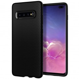 """Spigen"" Liquid Air dėklas - juodas (Galaxy S10)"