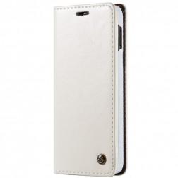 """""""CaseMe"""" solidus atverčiamas dėklas - baltas (Galaxy S10e)"""