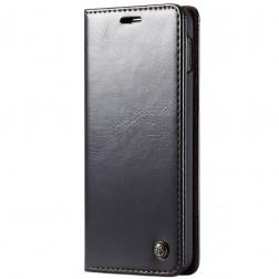 """""""CaseMe"""" solidus atverčiamas dėklas - juodas (Galaxy S10e)"""