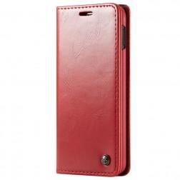 """""""CaseMe"""" solidus atverčiamas dėklas - raudonas (Galaxy S10e)"""
