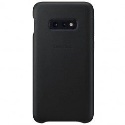 """Samsung"" Leather Cover dėklas - juodas (Galaxy S10e)"