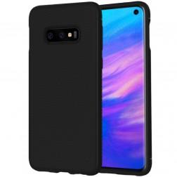 """""""Lenuo"""" kieto silikono (TPU) dėklas - juodas (Galaxy S10e)"""