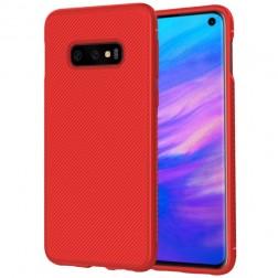 """""""Lenuo"""" kieto silikono (TPU) dėklas - raudonas (Galaxy S10e)"""