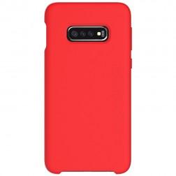 """""""Shell"""" kieto silikono (TPU) dėklas - raudonas (Galaxy S10e)"""