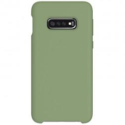 """""""Shell"""" kieto silikono (TPU) dėklas - žalias (Galaxy S10e)"""