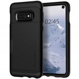 """Spigen"" Slim Armor CS dėklas - juodas (Galaxy S10e)"