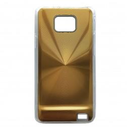 CD stiliaus dėklas - auksinis (Galaxy S2)