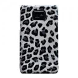 """""""Leopardinis"""" dėklas - baltas (Galaxy S2)"""