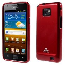 """""""Mercury"""" dėklas - raudonas (Galaxy S2)"""