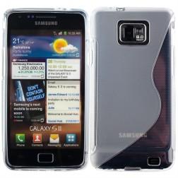 Silikoninis dėklas - skaidrus (Galaxy S2)