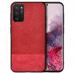 """""""Bi-Color"""" Splicing dėklas - raudonas (Galaxy S20 FE)"""