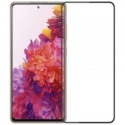 """""""Mofi"""" Tempered Glass apsauginis ekrano stiklas 0.26 mm - juodas (Galaxy S20 FE)"""