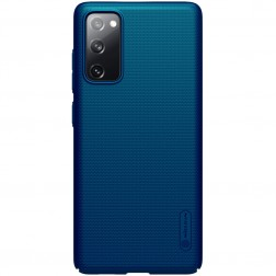 """Nillkin"" Frosted Shield dėklas - mėlynas (Galaxy S20 FE)"
