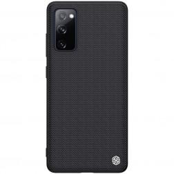 """Nillkin"" Textured dėklas - juodas (Galaxy S20 FE)"