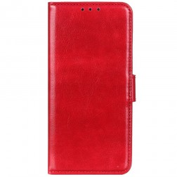 Atverčiamas dėklas, knygutė - raudonas (Galaxy S20 FE)