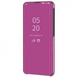 Plastikinis atverčiamas dėklas - rožinis (Galaxy S20 FE)