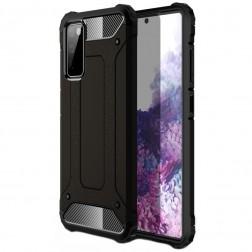 Sustiprintos apsaugos dėklas - juodas (Galaxy S20 FE)