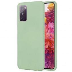 """""""Shell"""" kieto silikono (TPU) dėklas - žalias (Galaxy S20 FE)"""