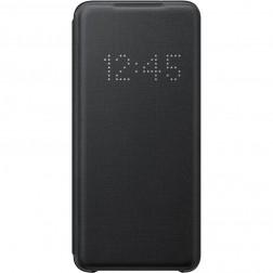 """""""Samsung"""" Smart Led View Cover atverčiamas dėklas - juodas (Galaxy S20)"""