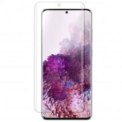 """""""ISME"""" apsauginė ekrano plėvelė (pilnai dengianti) - skaidri (Galaxy S20)"""