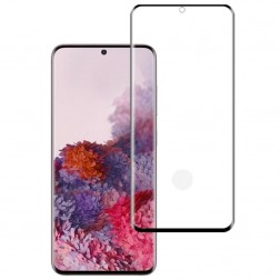 """""""Mocolo"""" Tempered Glass apsauginis ekrano stiklas 0.26 mm - juodas (Galaxy S20)"""
