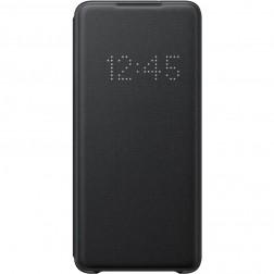 """""""Samsung"""" Smart Led View Cover atverčiamas dėklas - juodas (Galaxy S20+)"""