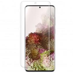 """""""ISME"""" apsauginė ekrano plėvelė (pilnai dengianti) - skaidri (Galaxy S20 Ultra)"""