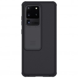 """Nillkin"" CamShield dėklas - juodas (Galaxy S20 Ultra)"