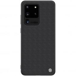 """Nillkin"" Textured dėklas - juodas (Galaxy S20 Ultra)"