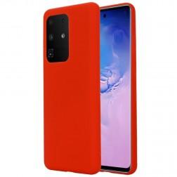 """""""Shell"""" kieto silikono (TPU) dėklas - raudonas (Galaxy S20 Ultra)"""