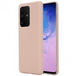 """""""Shell"""" kieto silikono (TPU) dėklas - rožinis (Galaxy S20 Ultra)"""