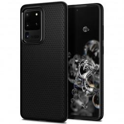 """Spigen"" Liquid Air dėklas - juodas (Galaxy S20 Ultra)"