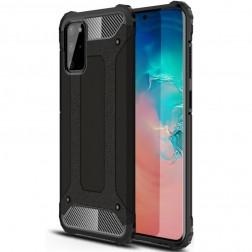 Sustiprintos apsaugos dėklas - juodas (Galaxy S20+)