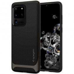 """Spigen"" Neo Hybrid dėklas - juodas (Galaxy S20 Ultra)"