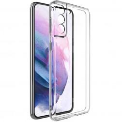 """""""Imak"""" kieto silikono (TPU) dėklas - skaidrus (Galaxy S21+)"""