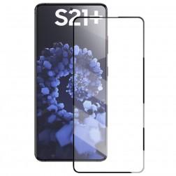 """""""Mocolo"""" Tempered Glass apsauginis ekrano stiklas 0.26 mm - juodas (Galaxy S21+)"""