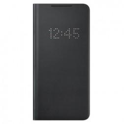 """""""Samsung"""" Smart Led View Cover atverčiamas dėklas - juodas (Galaxy S21+)"""