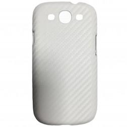 """""""Retro"""" plastikinis dėklas - baltas (Galaxy S3)"""