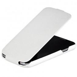 Vertikaliai atverčiamas dėklas - baltas (Galaxy S3)