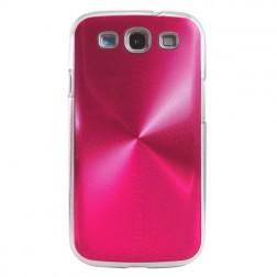 CD stiliaus dėklas - rožinis (Galaxy S3)