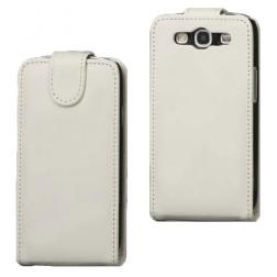 Klasikinis atverčiamas dėklas - baltas (Galaxy S3)
