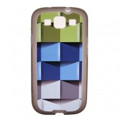"""Bullet"" dėklas - ""Cubes"" (Galaxy S3)"