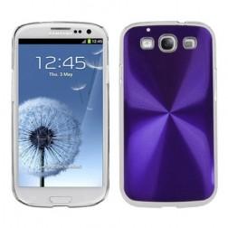 CD stiliaus dėklas - violetinis (Galaxy S3)