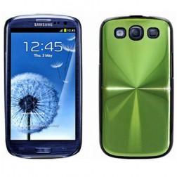 CD stiliaus dėklas - žalias (Galaxy S3)